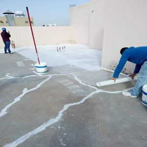عزل الاسطح ومعالجة التشقق